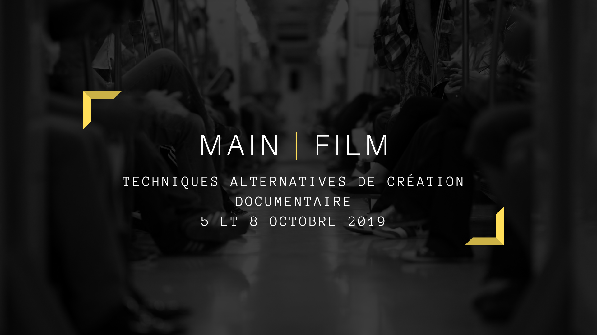TECHNIQUES ALTERNATIVES DE CRÉATION DOCUMENTAIRE