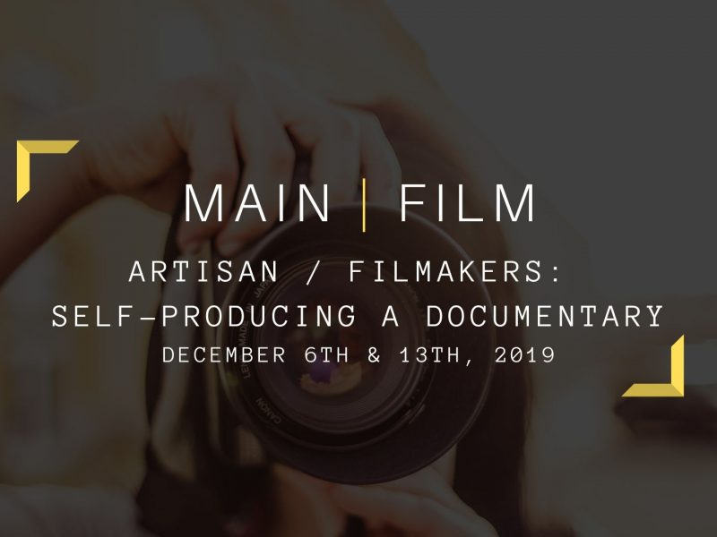 Self-producing a documentary