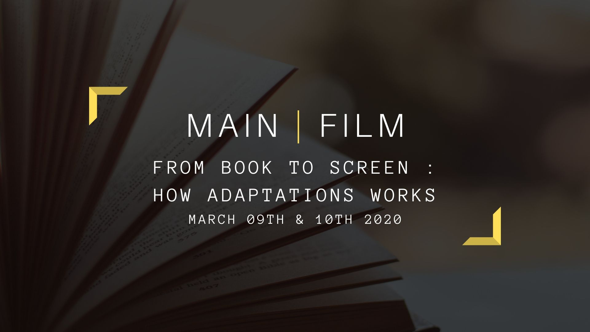 From book to screen : How adaptations works