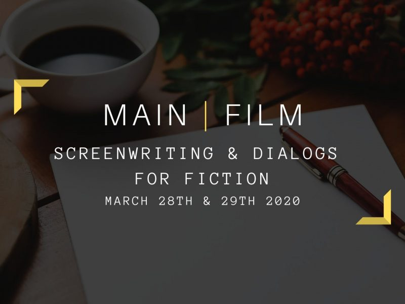 Screenwriting and dialogs