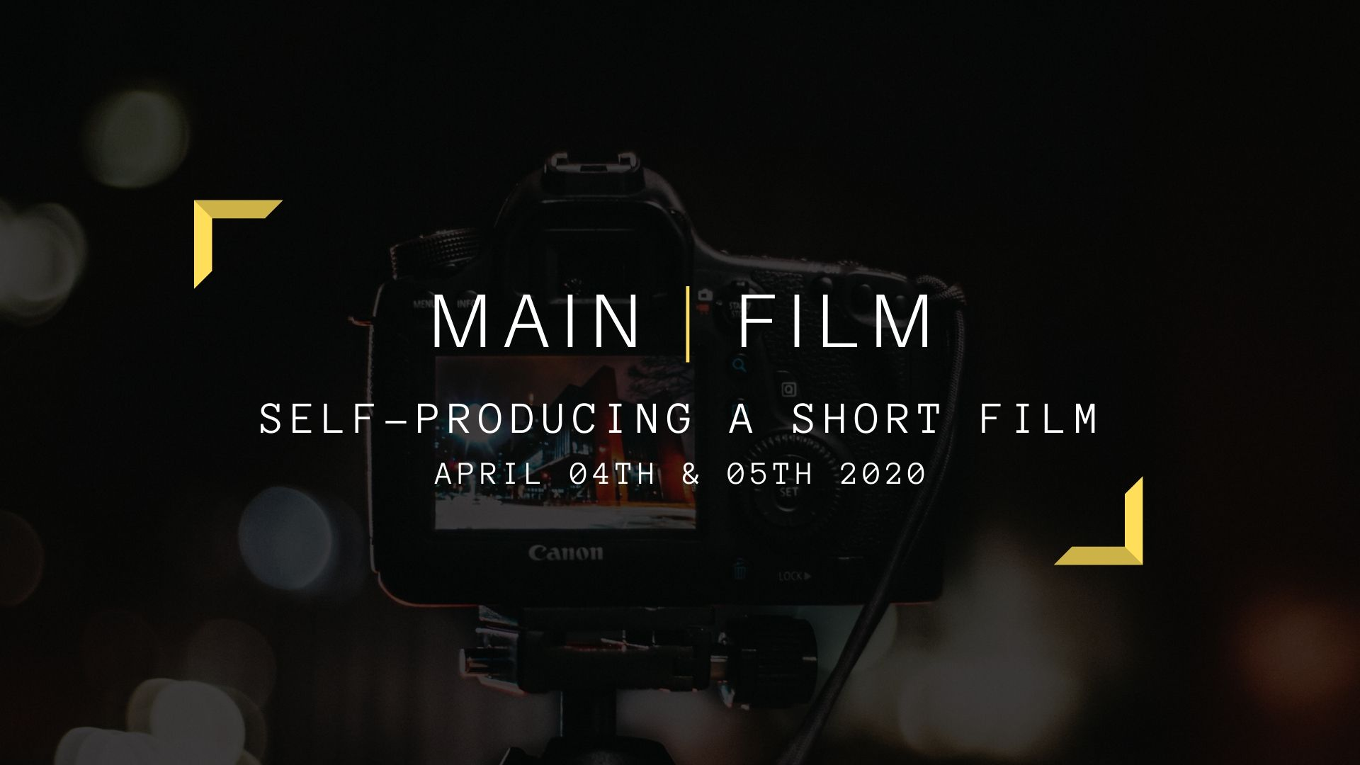 Self-producing a short film | Supplementary