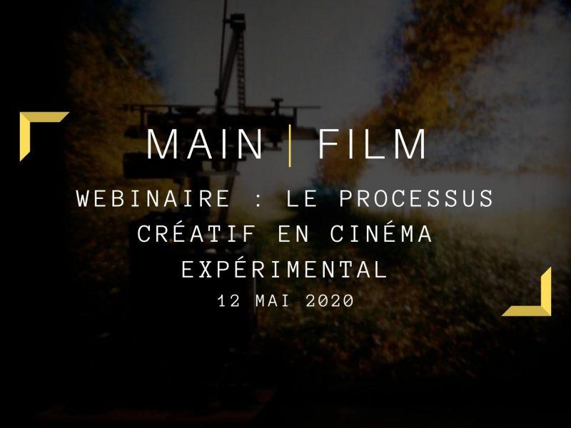 Le processus créatif en cinéma expérimental