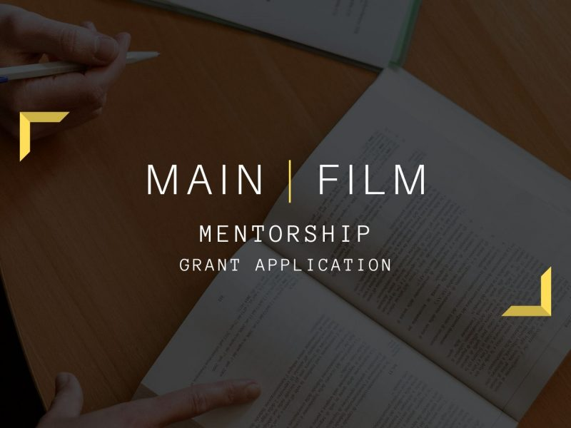 Mentorship for grant application
