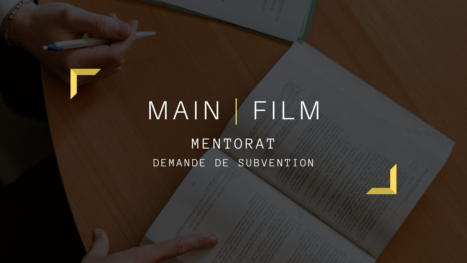 Mentorzt demande de subvention