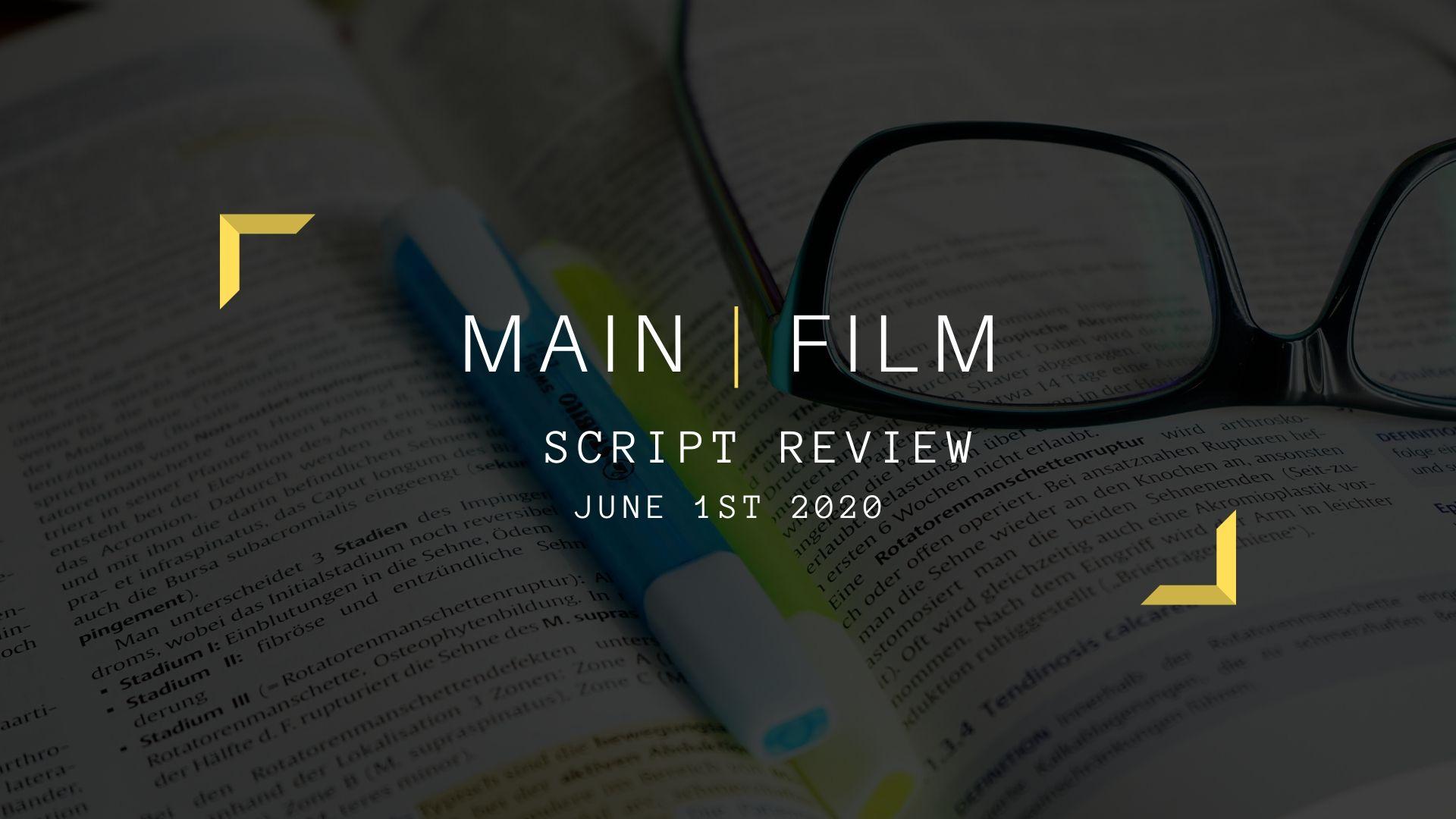 Online   Script review