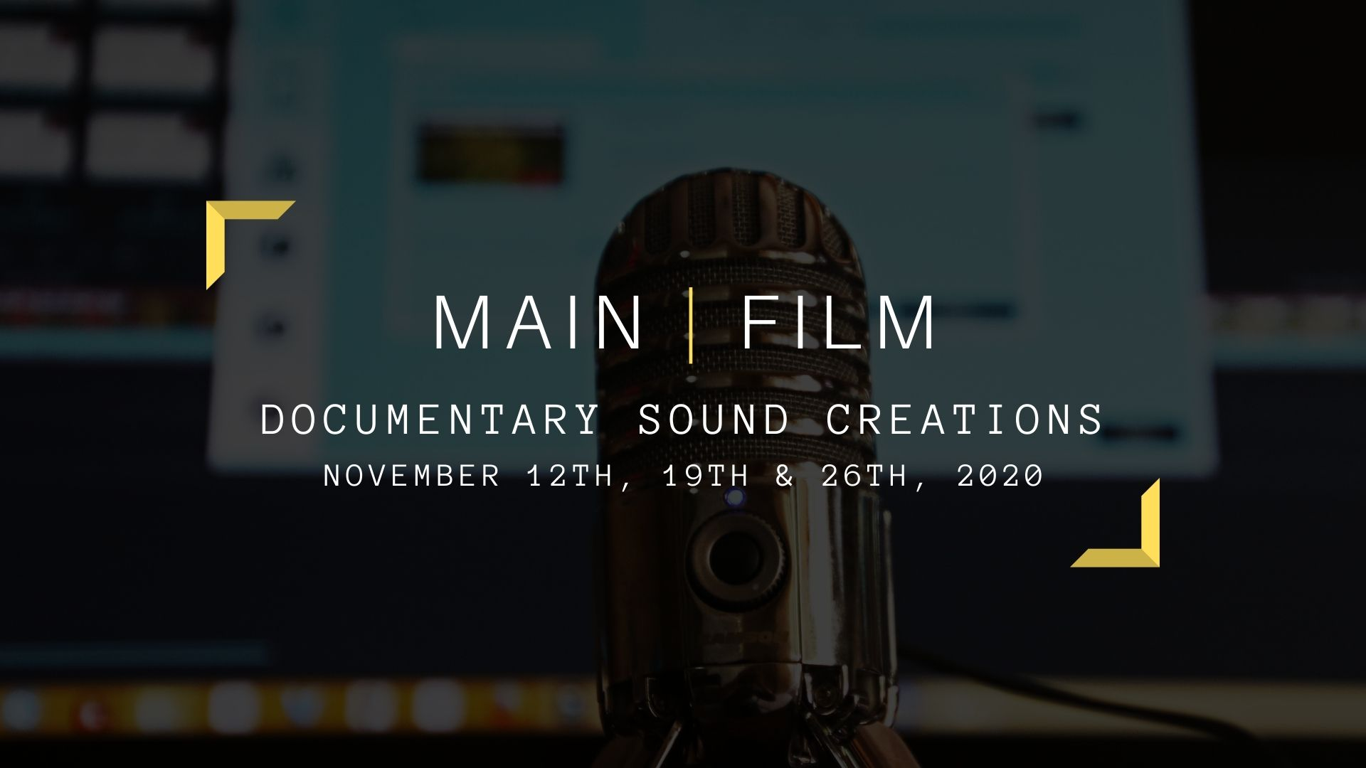Documentary sound creations | Online