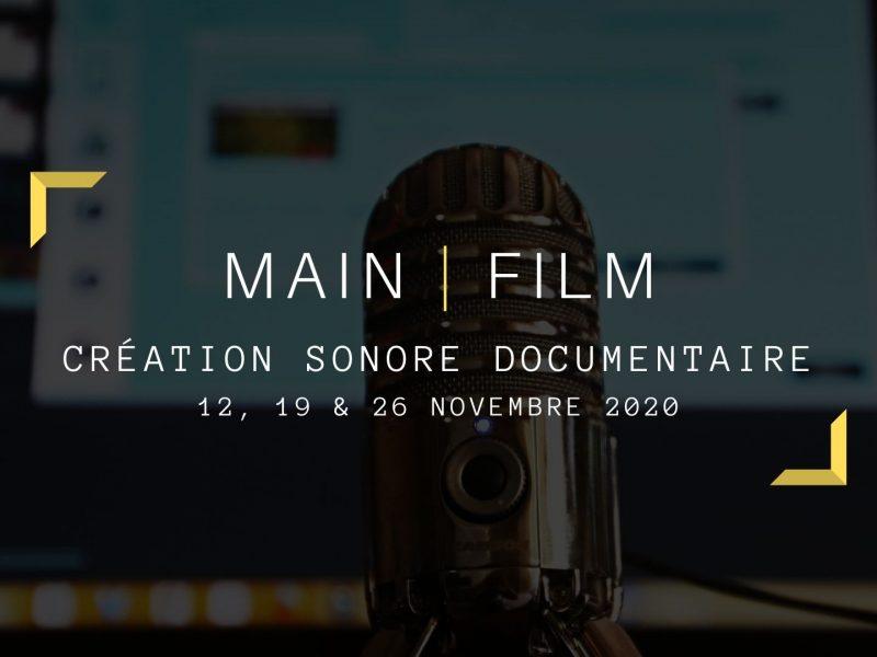 Création sonore documentaire | En ligne