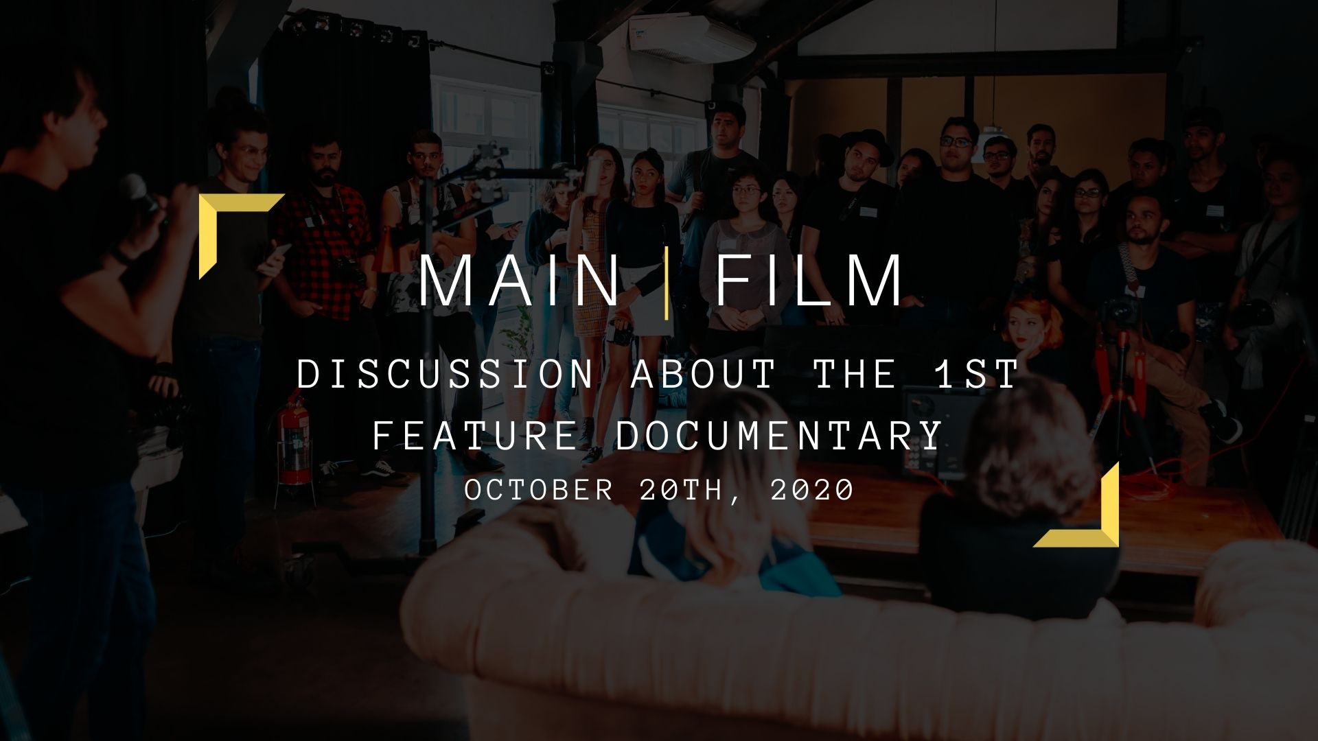 Discussion about the 1st feature documentary