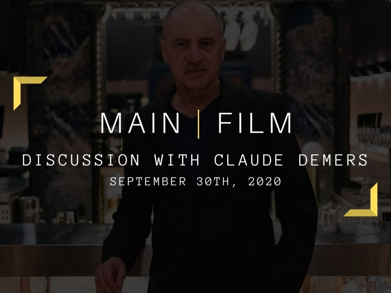 Discussion with Claude Demers | Online
