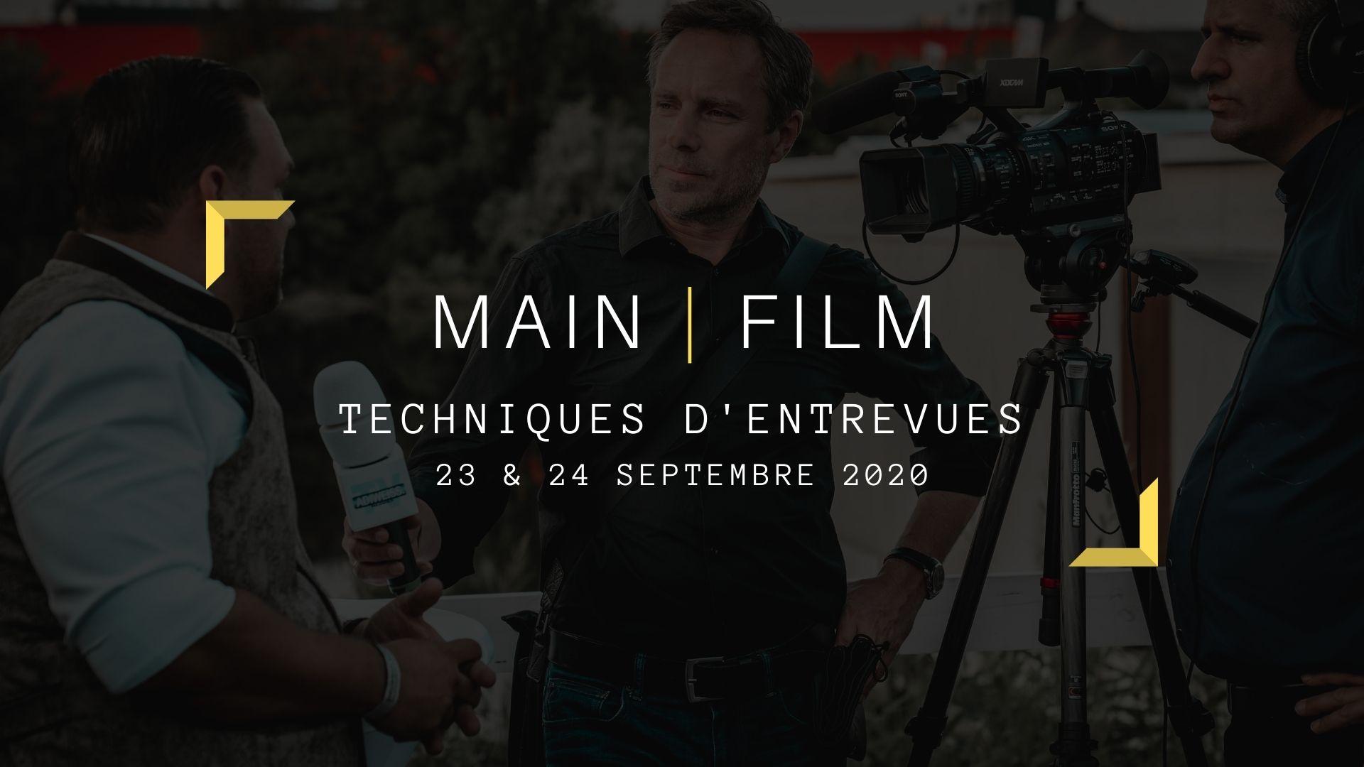 Techniques d'entrevues | En ligne