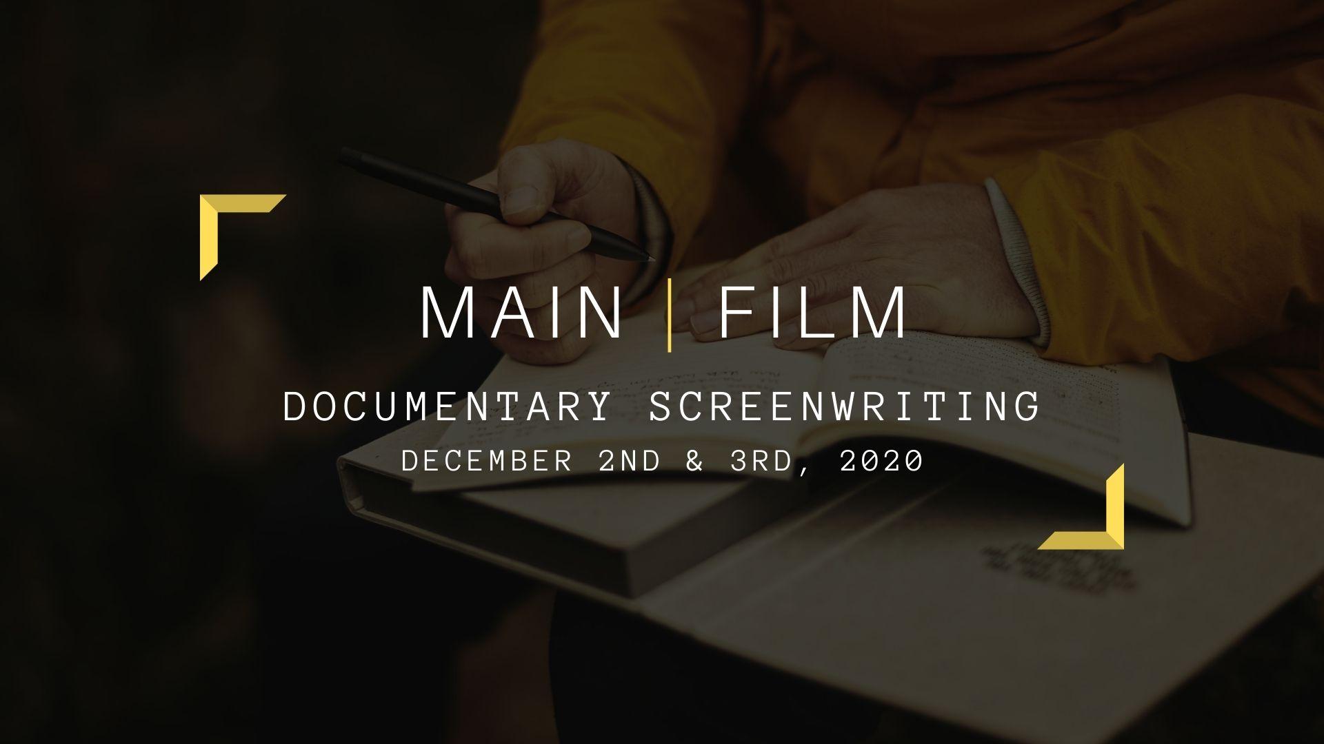 Documentary screenwriting | Online