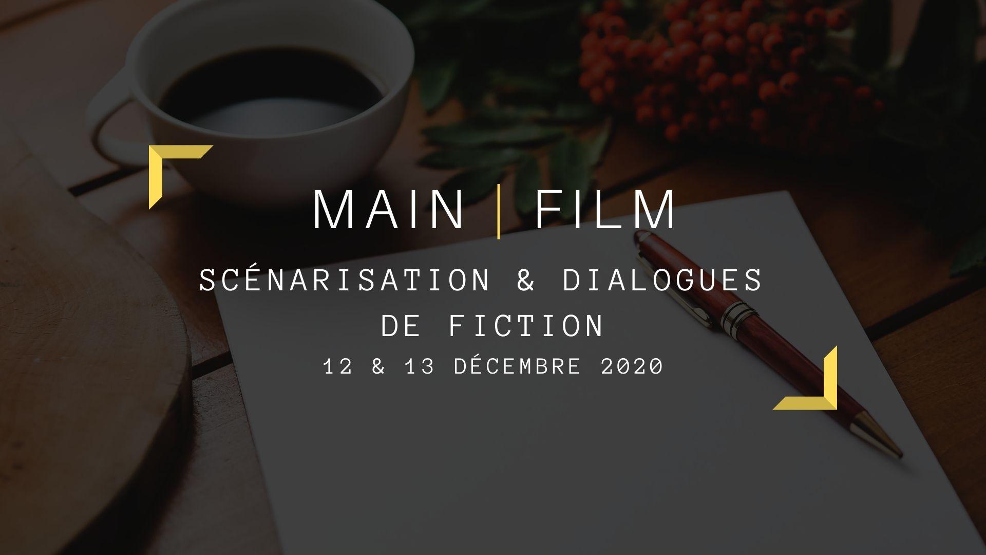 Scénarisation et dialogues de fiction   En présentiel