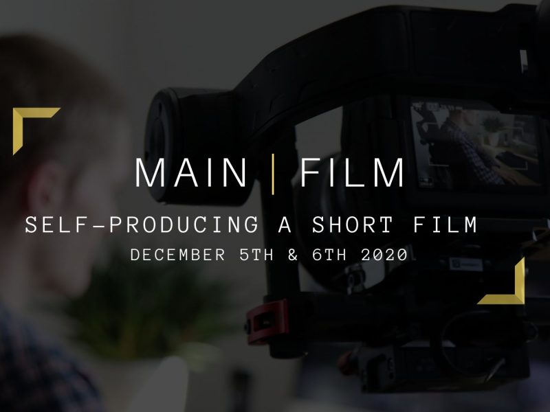 Self-producing a short film | In person
