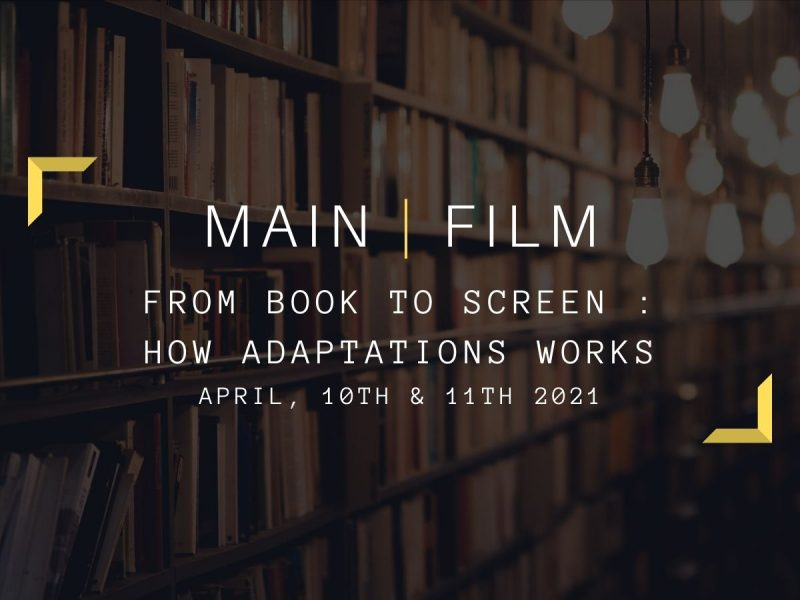 From book to screen : How adaptations works | In-person