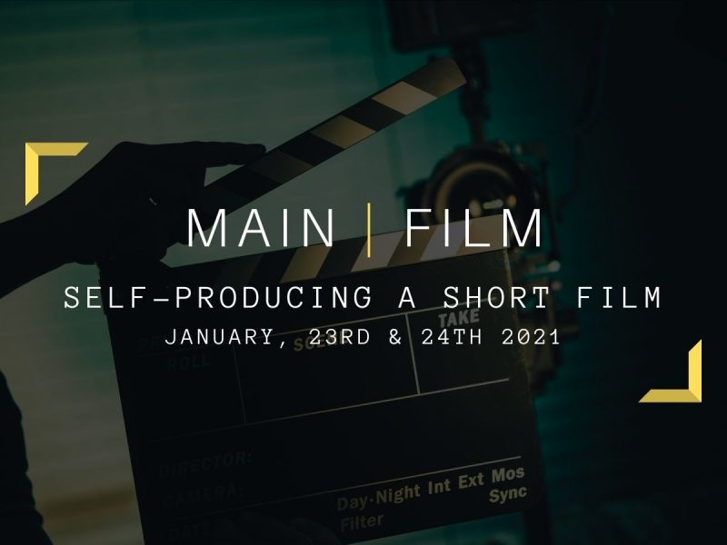Self-producing a short film | In-person