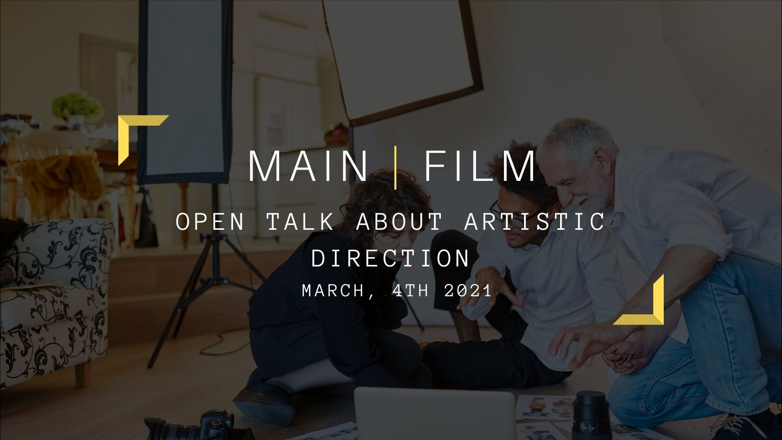 Open Talk about Artistic Direction | Online