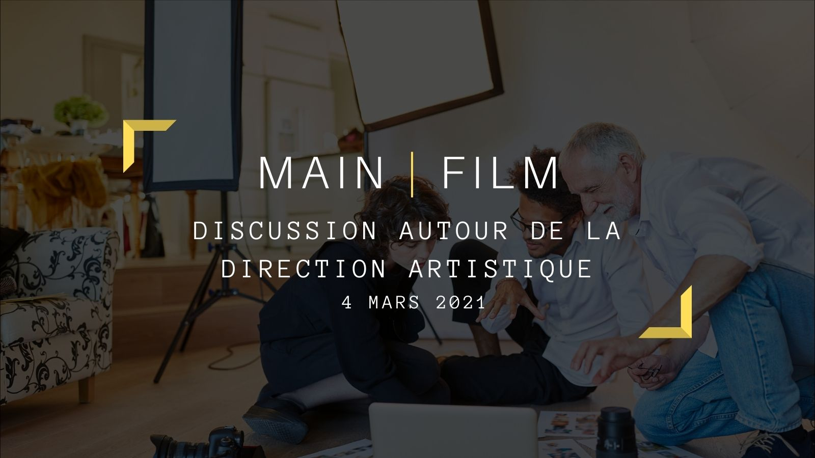 Discussion autour de la direction artistique   En ligne