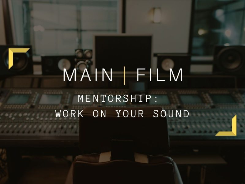 Mentoring application for sound | Online
