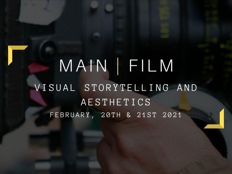 Camera storytelling : sense & aesthetics | In-person