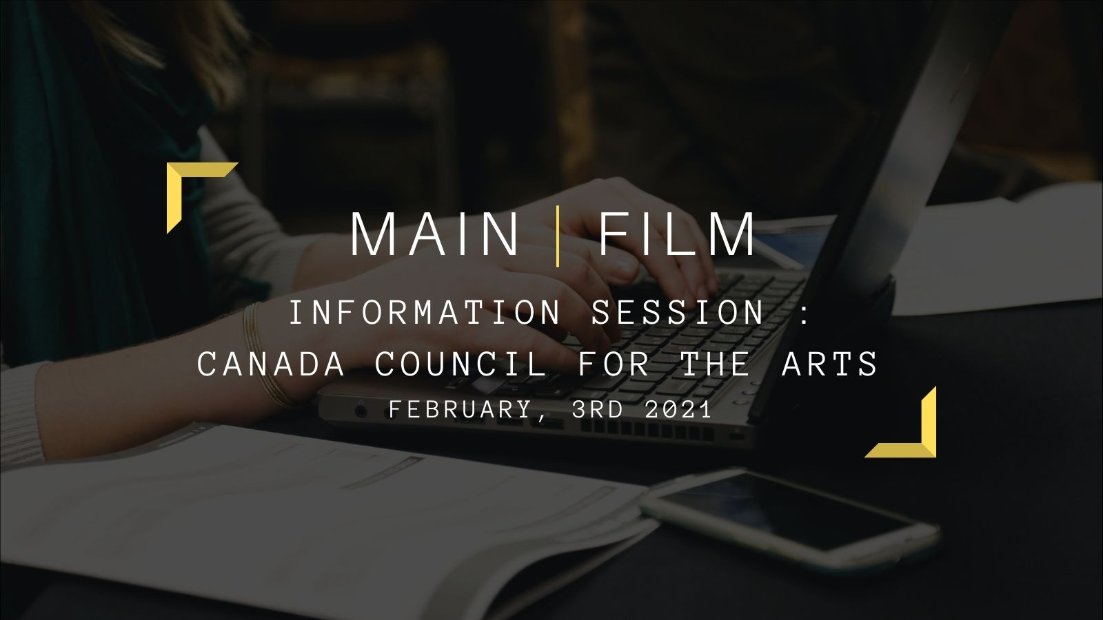 Information session Canada Council for the Arts   Online