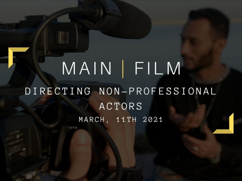 Working with non-professional actors | Online