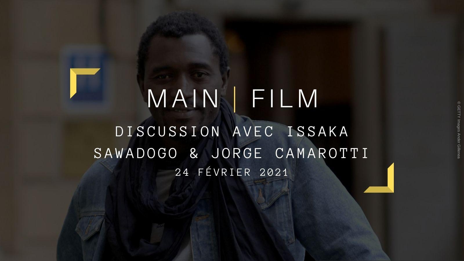 Discussion avec Issaka Sawadogo et Jorge Camarotti