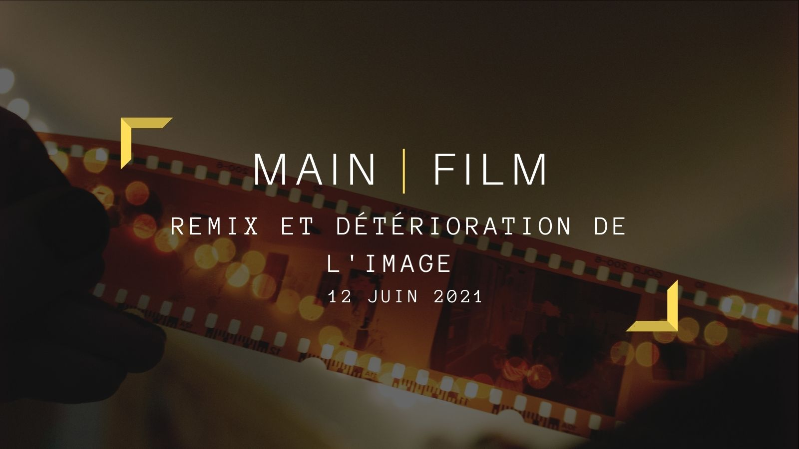 Remix et détérioration de l'image   En présentiel