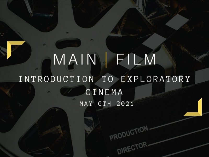 Introduction to Exploratory Cinema   Online