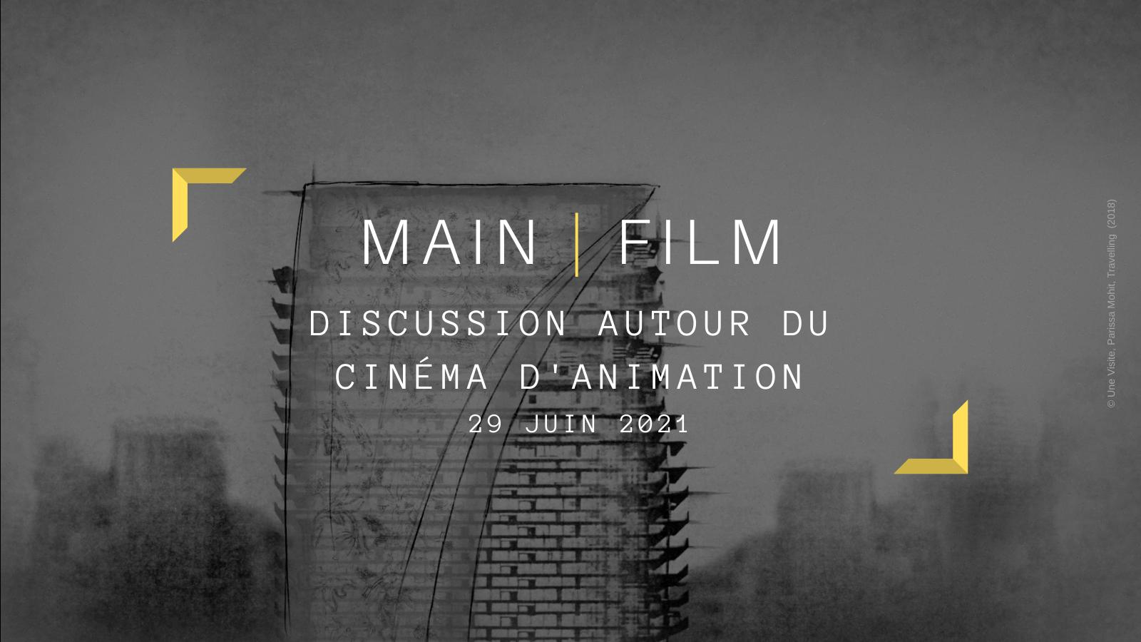 Discussion autour du cinéma d'animation   En ligne