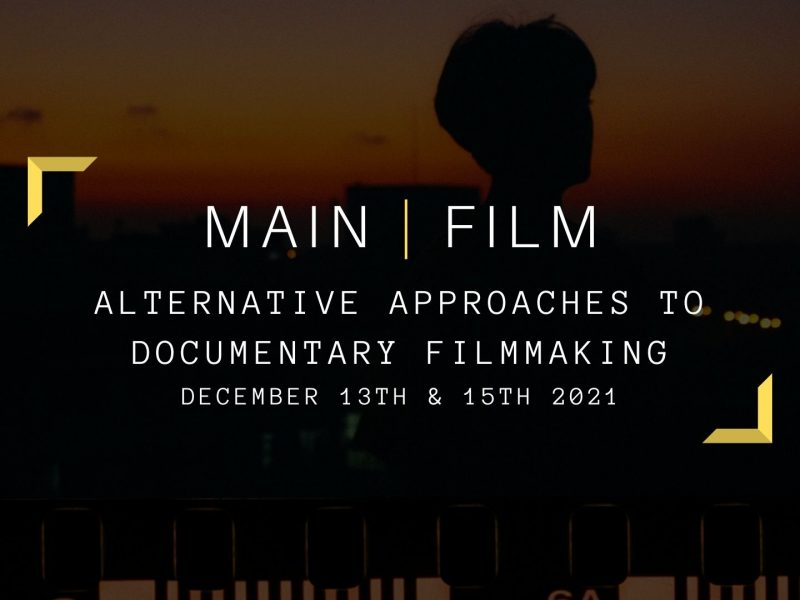 Alternative Approaches to Documentary Filmmaking | Online or in person