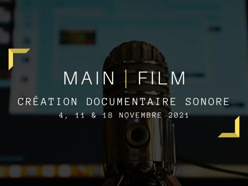 Création documentaire sonore | En ligne & en présentiel