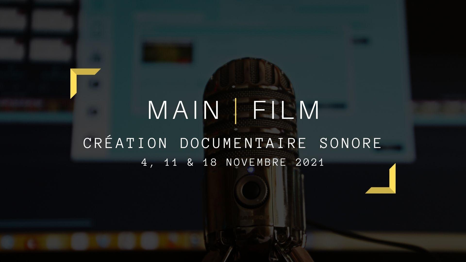 Création documentaire sonore | En ligne ou en présentiel