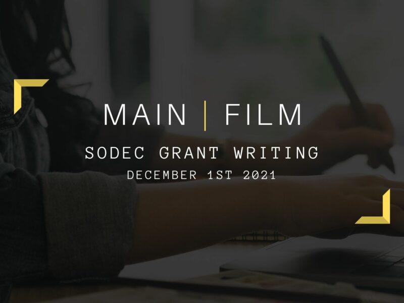 SODEC Grant Writing | Online