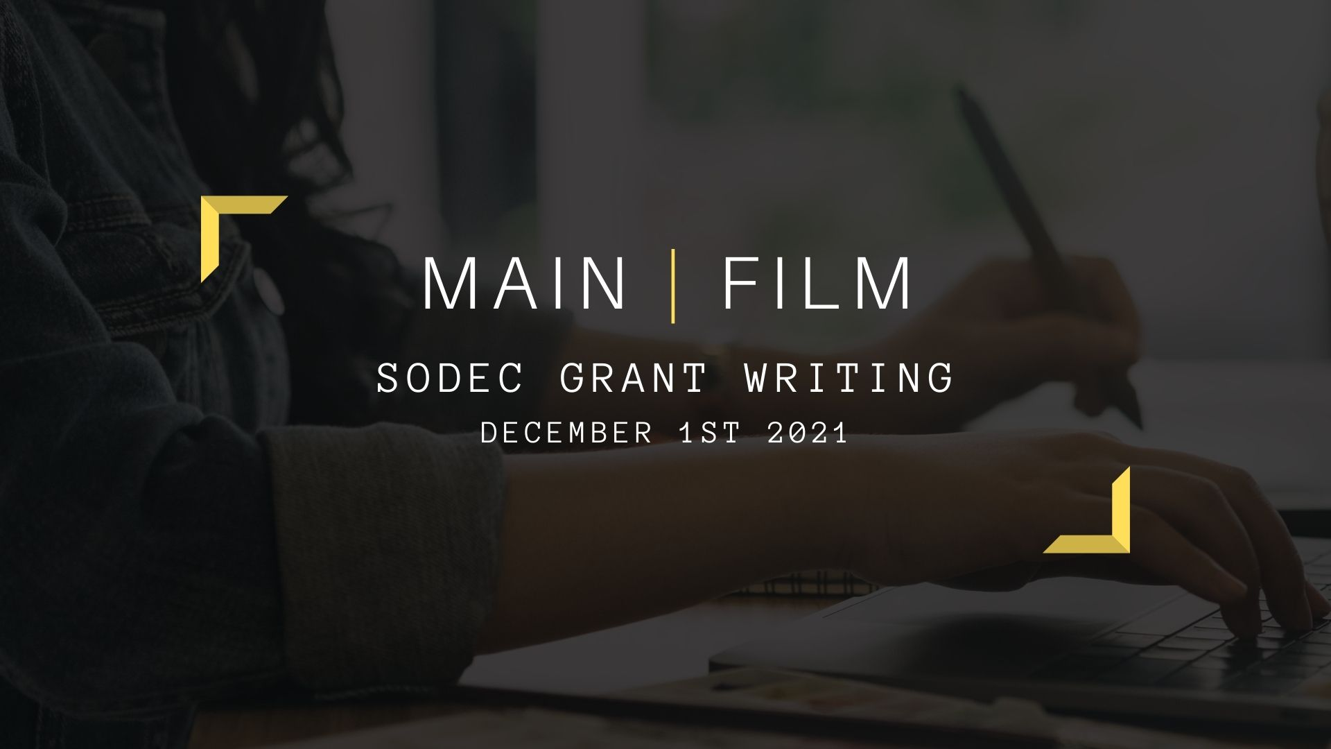 SODEC Grant Writing   Online