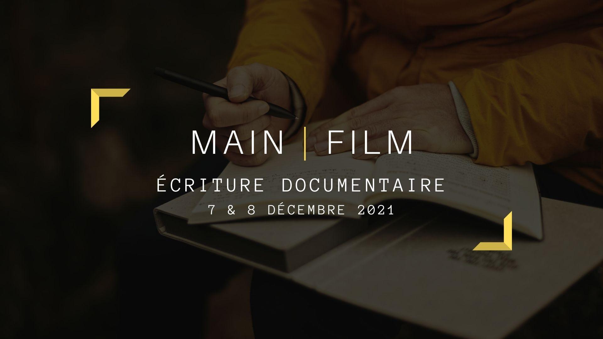 Écriture documentaire | En ligne ou en présentiel