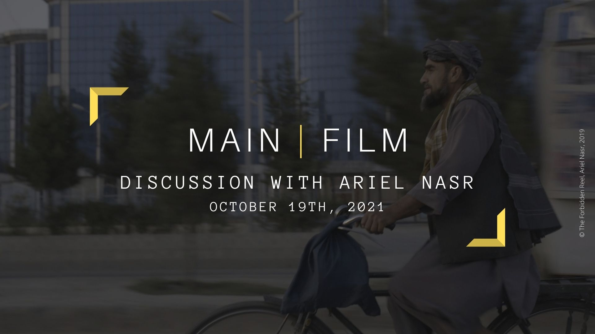 Discussion with a filmmaker : Ariel Nasr | Online